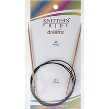 "Knitter's Pride 1/2.25mm Dreamz Fixed Circular Needles, 40"" - $9.19"