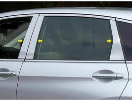 Fits 2017-2020 Honda CRV 6PC Stainless Steel Chrome Pillar Post Trim - $66.49