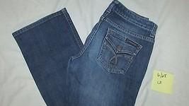 "Calvin Klein 6 short Lean Bootcut Jeans women  28"" inseam medium wash - $9.99"