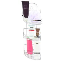 Elama Three Rack Shower Caddy with Foldaway Shelves - $37.91