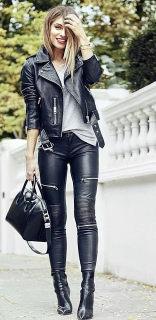WOMEN BIKER MOTORCYCLE CASUAL SLIM FIT RIDER REAL GENUINE  LEATHER JACKET-A37