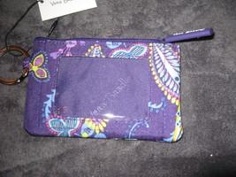 Vera Bradley Lighten Up Zip ID Case. Batik Leaves - $11.26