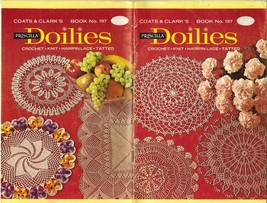 Vintage Crochet Knit Tatting Priscilla Christmas Doilies Hairpin Lace Pa... - $12.99