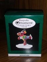 Hallmark Keepsake Miniature Club Ornament 1995 A Gift from Rodney NIB QXC4129 - $9.49