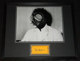 David Hedison Signed Framed 16x20 Photo Poster Display The Fly B - $65.09