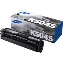 HP CLT-K504S Toner Cartridge - Black - Laser - 2500 Pages - 1 Each - $67.19