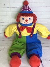 Gymboree Dance With Me Gymbo The Clown Large 36in Stuffed Plush Hand Fee... - $39.84