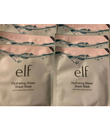 6 PACK E.L.F. Hydrating Water Sheet Mask with Purified Water & Aloe 0443 - $6.89