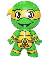 MICHELANGELO NINJA TURTLE CHARACTER orange mask TMNT inflatable toy - $5.95