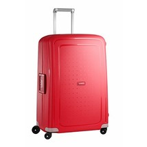 Samsonite S'Cure Hardside Checked Luggage with Spinner Wheels, 28 Inch, Crimson  - $239.11