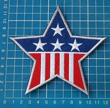 Star Captain America Logo Embroidered Patch Marvel Comics Red Skull Aven... - $9.99
