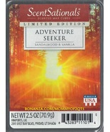 Adventure Seeker ScentSationals Scented Wax Cubes Tarts Melts Potpourri Candle - $3.50