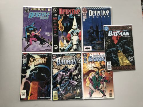 Lot of 7 Detective Comics (1937 1st Series) Annual #1 2 3 4 7 8 9 VF Very Fine