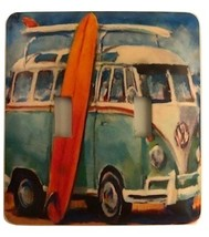 Volkswagen Bus Metal Switch Plate Cars  - $10.50
