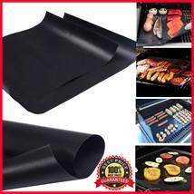 4 PCS BBQ Grill Mat Non-Stick Pad Sheet Magic Reusable Make Grilling Eas... - €8,49 EUR