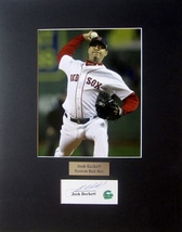 JOSH BECKETT AUTOGRAPHED Contract Cut Signature Matted 8x10 PHOTO BOSTON... - $44.99