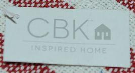 Midwest CBK Brand 147908 Red White Striped Tasseled Throw Blanket image 5