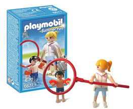 Playmobil Pool Supervisor with Swimmer Summer Fun Series #6677 New in Box - $7.88
