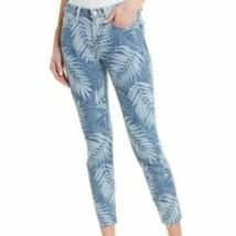 Women's Current/Elliot Stiletto High Rise Palm Print Jeans - $149.00