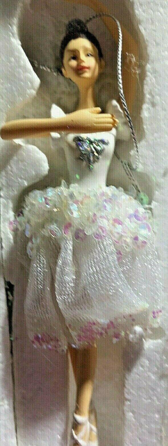 Glittery Ballerina Chrismas Ornament Avon 2011 Dancer