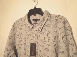 Michael Kors 60% OFF Men's XXL Linen Blend Tailored Shirt L/S Classic Fi... - $35.44