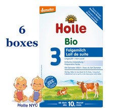 Holle Stage 3 Organic Formula 6 boxes,10 month+ 08/2020 FREE EXPEDITED S... - $148.95