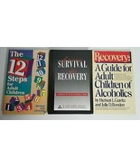 Alcoholics Anonymous AA Children/Family of Alcoholics Lot x3, Survival, ... - $9.99