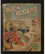 Buck Rogers on the Moons of Saturn Original Big Little Book by Nowlin / ... - $125.00