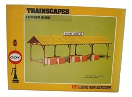 Cox Transcapes Item 6234-5 Big Pine Lumber Shed, New, Electric Train Accessories