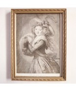 Girl With the Muff Print/engraving painting by MME. Vigee Le Brun Louve - $296.99