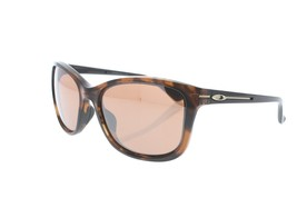 New OAKLEY Drop In OO9232-04 58MMM Dark Tortoise/ Dark Brown Sunglasses - $79.19