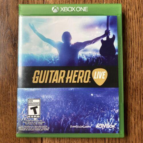 Guitar Hero Live (Microsoft Xbox One, 2015) Game Disc & Game Case - $24.74