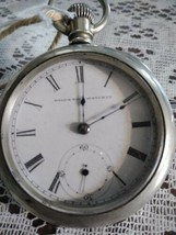 Old Elgin Wind Up Pocket Watch With Key - €206,23 EUR