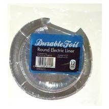 Durable Foil D62120 Durable Foil™ Round Electic Burner Liners - $9.39