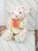 TY Beanie Buddy - BLOOM the Bear (12 inch) - Stuffed Animal Toy (f) - $10.69