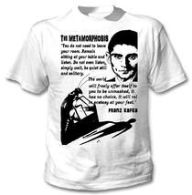 FRANZ KAFKA THE METAMORPHOSIS - NEW COTTON WHITE TSHIRT - $25.89