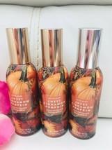 3 New Bath and Body Works Sweet Cinnamon Pumpkin  Home Room Spray - $24.65