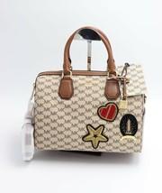 NWT MICHAEL Michael Kors Studio Mercer Patches Satchel Convertible Bag New $398 - $228.00