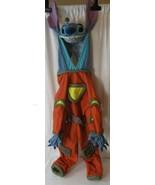 Disney Store Lilo And Stitch Orange Space Costume Kids 4-6T Halloween  - $44.54