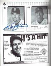 1999 Red Sox Spring Training Magazine Program signed Wakefield Saberhage... - $46.51