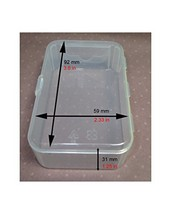 Maymom Small Plastic Box with Hinged Lid for Small Parts, Crafts, Beads,... - $9.60