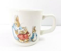 1993 Peter Rabbit Mug Cup Wedgwood Frederick Warne Made in England - $34.65