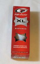 Top Flite XL lungo & Forte Distanza 3 Confezione Golf Sfere Chase Nuovo Box di 3 - $10.68