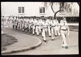 "1939 Hawaii, US Army F Bat Unit marching. Pre WW2 5 X 7"" Photograph - $5.90"