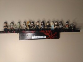 The Walking Dead Funko Mystery Minis series 3 complete set with shelf  - $205.70