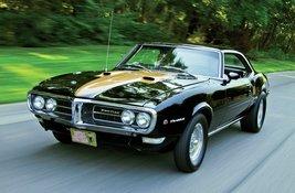 1968 Pontiac Firebird front qtr | 24 X 36 inch poster  - $18.99