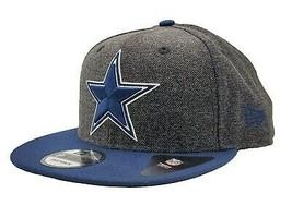 Dallas Cowboys New Era 9Fifty Tweed Turn Adjustable Snapback Hat NFL - $32.66