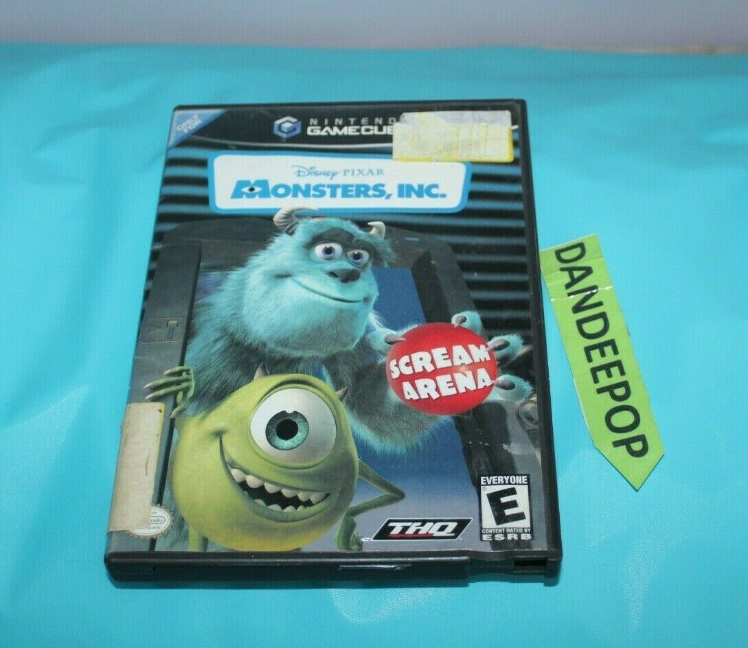 Primary image for Monsters, Inc.: Scream Arena (Nintendo GameCube, 2002) Video Game