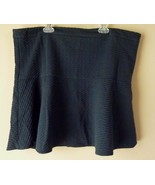 Ann Taylor Loft Womens Dark Blue Skirt Size XL New - $18.57