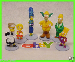 SIMPSONS Clue Game SUSPECTS ♟ Player Figures Characters Tokens ♟ Replace... - $7.55